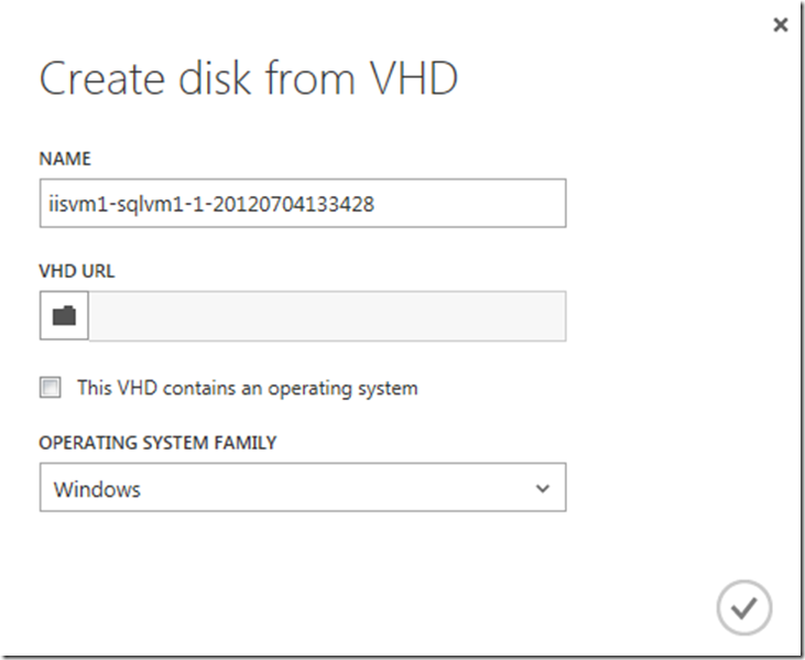 How to move Windows Azure Virtual Machines from one